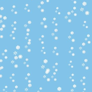 Cascading Snowflakes 2
