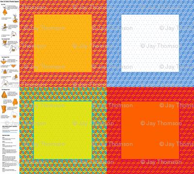 Mod Boxes Pocket Squares