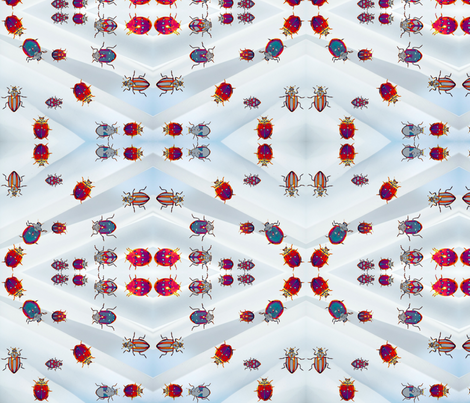 Beetles, Beetles, Beetles! fabric by robin_rice on Spoonflower - custom fabric