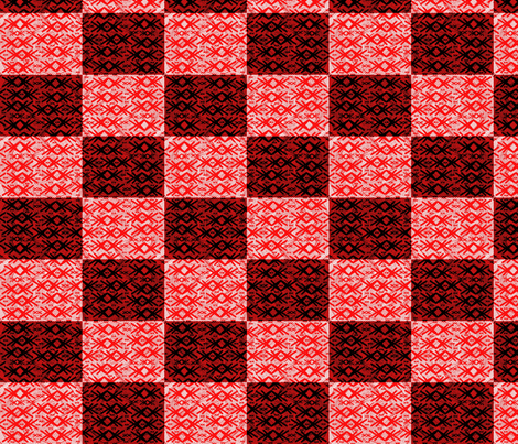checkerboard fabric by y-knot_designs on Spoonflower - custom fabric