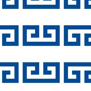 Greek key 10 cm border