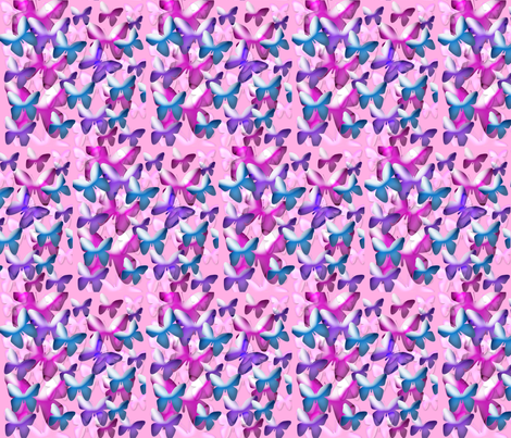 Butterfly_Haven fabric by fabricouture on Spoonflower - custom fabric