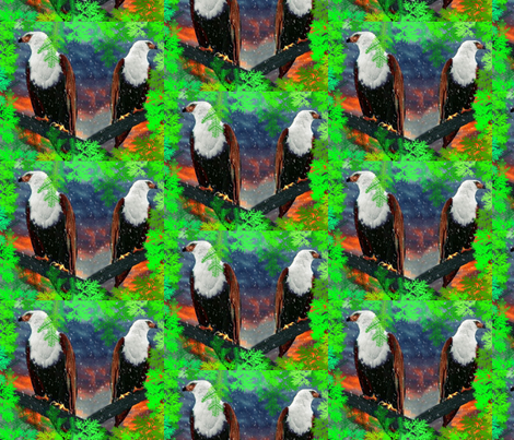 Eagle Lookouts fabric by robin_rice on Spoonflower - custom fabric