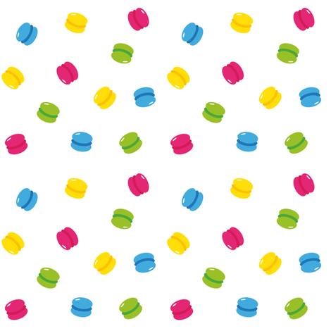 macarons fabric by darlingdearest on Spoonflower - custom fabric
