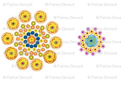 Millefiori Flowers