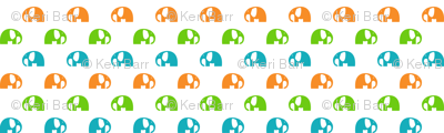 elephants_6cm_blue-green-orange