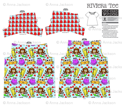 Under The Sea Rivera T-Shirt