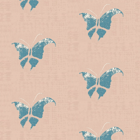 butterfly__larger_background, slight texture fabric by materialsgirl on Spoonflower - custom fabric