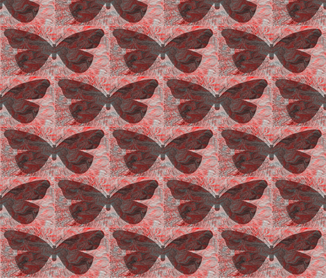 Mysterious Butterfly fabric by anniedeb on Spoonflower - custom fabric