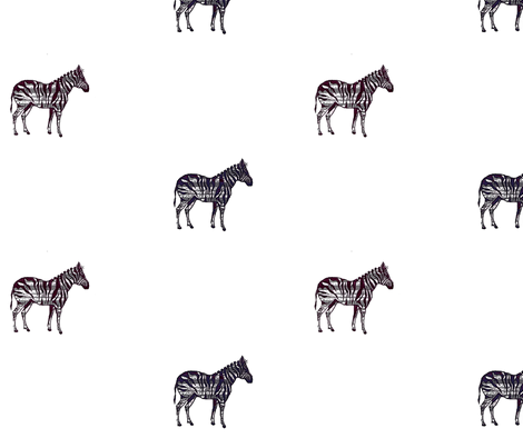 zebra rain fabric by ellesleeper on Spoonflower - custom fabric
