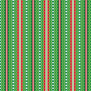 Christmas Rope Green