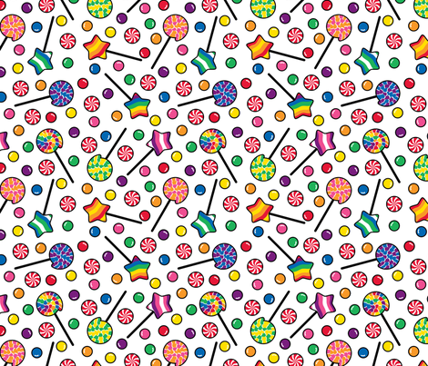 Sugar Rush fabric by modgeek on Spoonflower - custom fabric