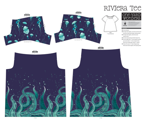 Storey Riviera Tee fabric by jadegordon on Spoonflower - custom fabric