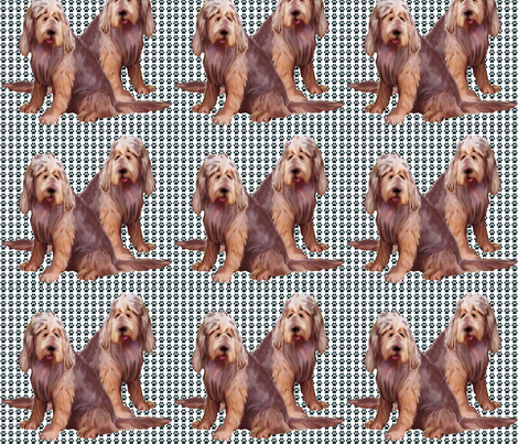 otterhounds fabric by dogdaze_ on Spoonflower - custom fabric