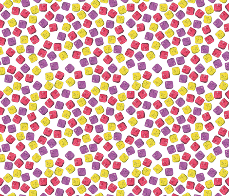 Tooty Fruity fabric by hlbyatt on Spoonflower - custom fabric
