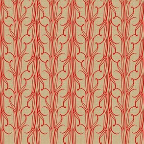 lily_leaf_stripe_flame_on_beige