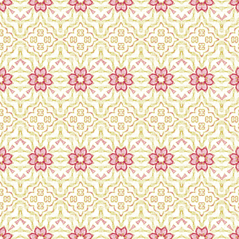 a floral tapestry-ch fabric by kerryn on Spoonflower - custom fabric
