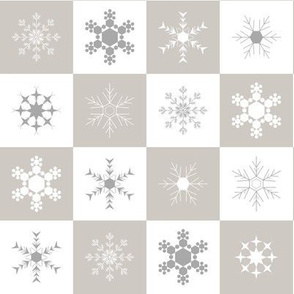 Snowflake Chequer