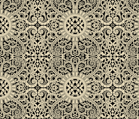 Moderne1a fabric by muhlenkott on Spoonflower - custom fabric
