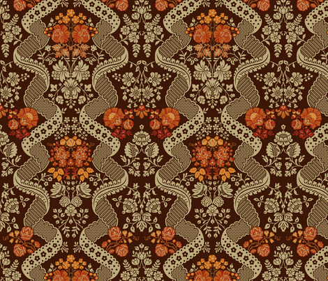 Rococo VA 1c fabric by muhlenkott on Spoonflower - custom fabric