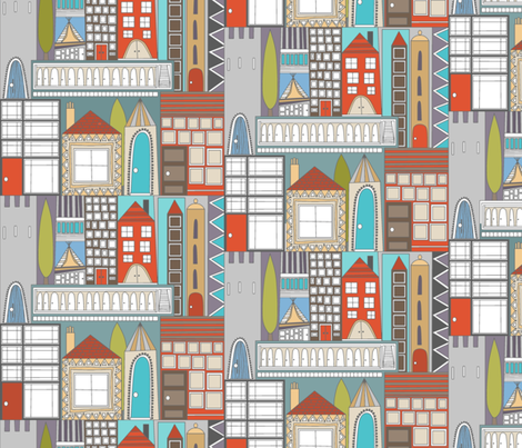 RESIDE large fabric by scrummy on Spoonflower - custom fabric