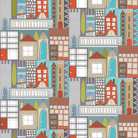 RESIDE (smaller scale) fabric by scrummy on Spoonflower - custom fabric