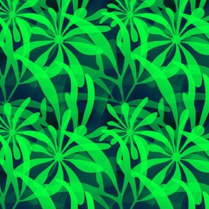 Leaves in Green