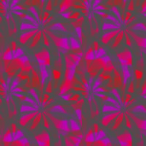 Leaves in Pink and Purple