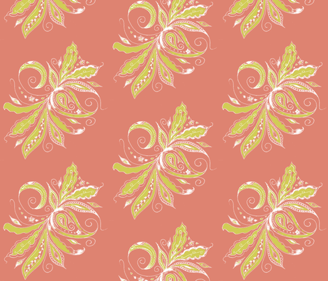 paisley fantasy- fabric by kerryn on Spoonflower - custom fabric