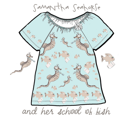 Samantha Seahorse and Her School of Fish