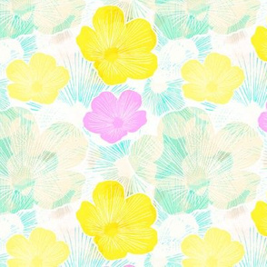 Spring Flowers Multicolor