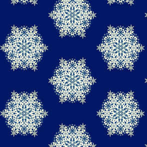 Snowflake Nordic Blue