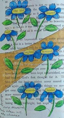 secrets - blue daisies 1