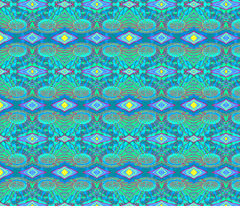 Undersea Light Patterns fabric by robin_rice on Spoonflower - custom fabric