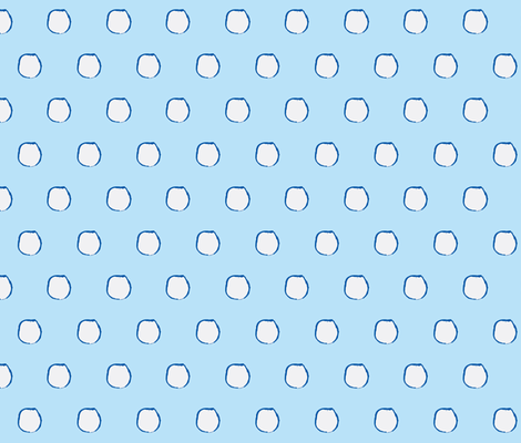 Snow Drops fabric by bymarie on Spoonflower - custom fabric