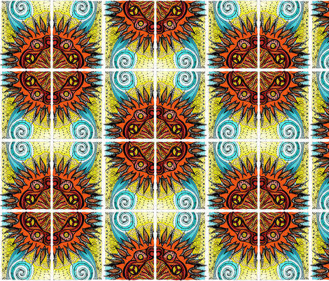 ATC_sun_col_x4 yard fabric by kalona_creativity on Spoonflower - custom fabric