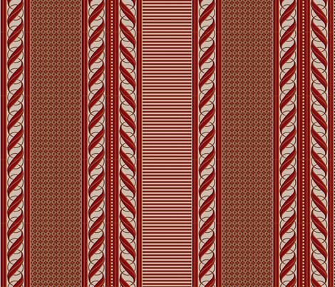 RUSTY BORDER fabric by glimmericks on Spoonflower - custom fabric