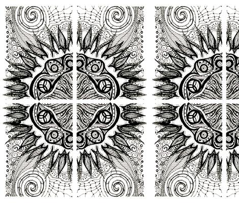 ATC_sun_FQ fabric by kalona_creativity on Spoonflower - custom fabric