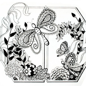doodle_butterflies_dyptic swatch