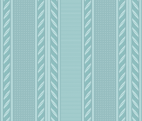 Sky BORDER fabric by glimmericks on Spoonflower - custom fabric