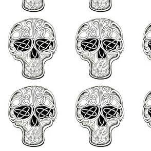 celtic skull FQskull