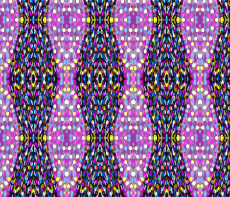 Seductive Dots in Mirror Repeat (vertical) fabric by anniedeb on Spoonflower - custom fabric