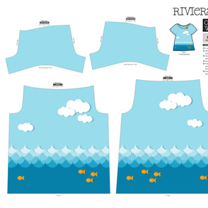 Under The Sea Riviera Tee