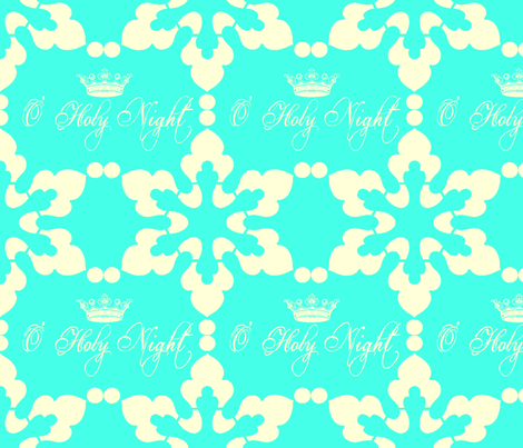 O-Holy-Night fabric by eddiewood on Spoonflower - custom fabric