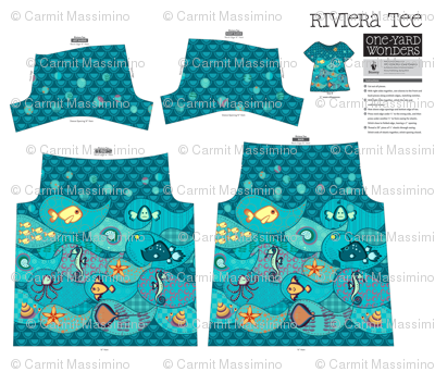 Under the Sea - Riviera Tee