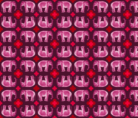 elefante fabric by marcador on Spoonflower - custom fabric