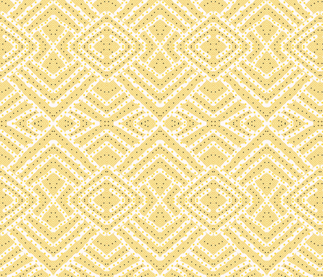 Wheat Fields in Mirror Repeat fabric by anniedeb on Spoonflower - custom fabric