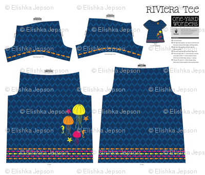 Here, Fishy, Fishy Riviera Tee