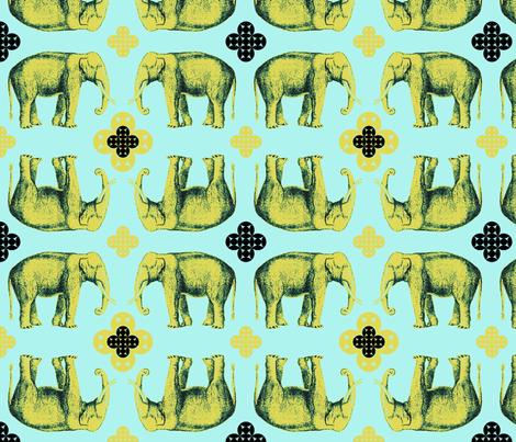 elefante3 fabric by marcador on Spoonflower - custom fabric