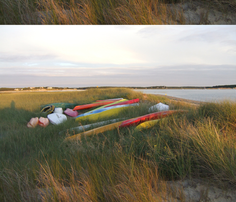 Cape_Cod_Boats fabric by bloomingwyldeiris on Spoonflower - custom fabric